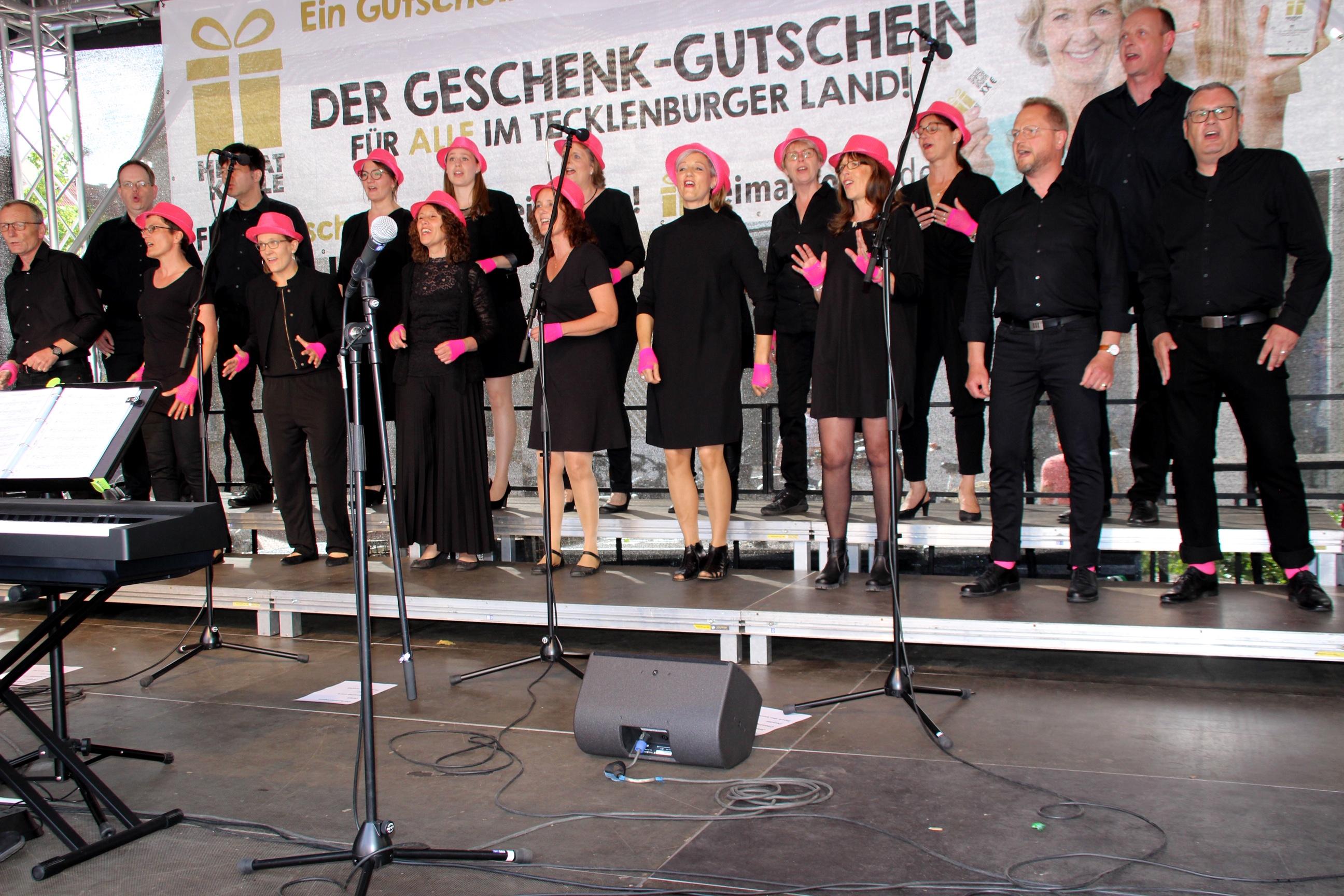 ...wieder dabei: Voice beim  13.Chortreffen in Ibbenbüren